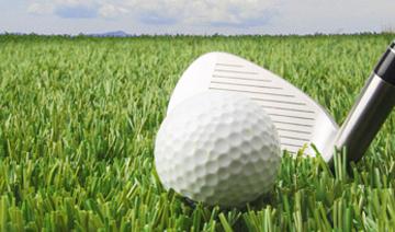 Césped artificial para golf