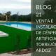 Césped artificial en Torrejón de Ardoz