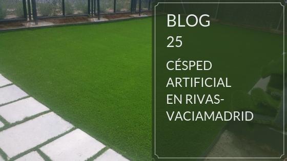 Venta e instalación césped artificial Rivas-Vaciamadrid