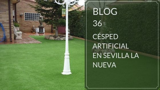 Césped artificial en Sevilla la Nueva