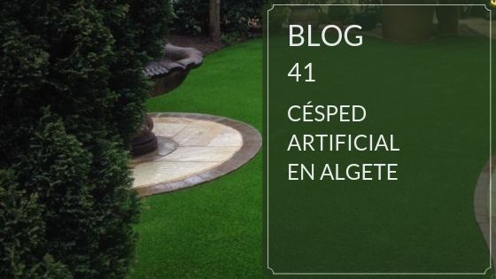 Césped artificial en Algete
