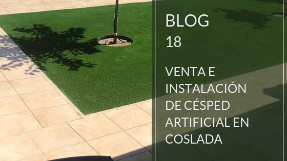 Venta e instalación de césped artificial en Coslada