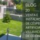 Venta e instalación de césped artificial en Villaviciosa de Odón